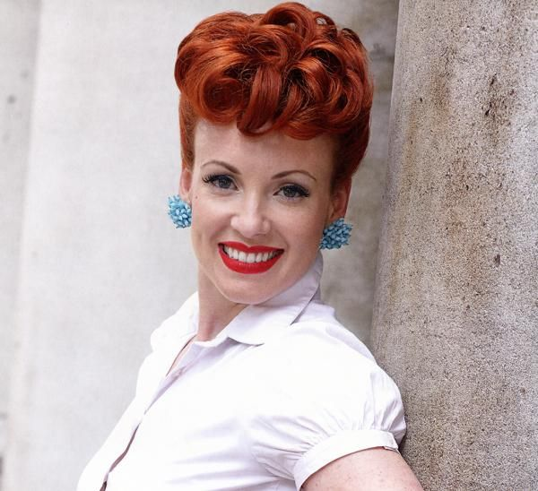Popular Hairstyles The Poodle Is A Popular Hairstyle Of The 40's And 50's Made Famous