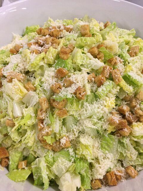 Delicious, healthy cooking #CaesarSalad #Ammo