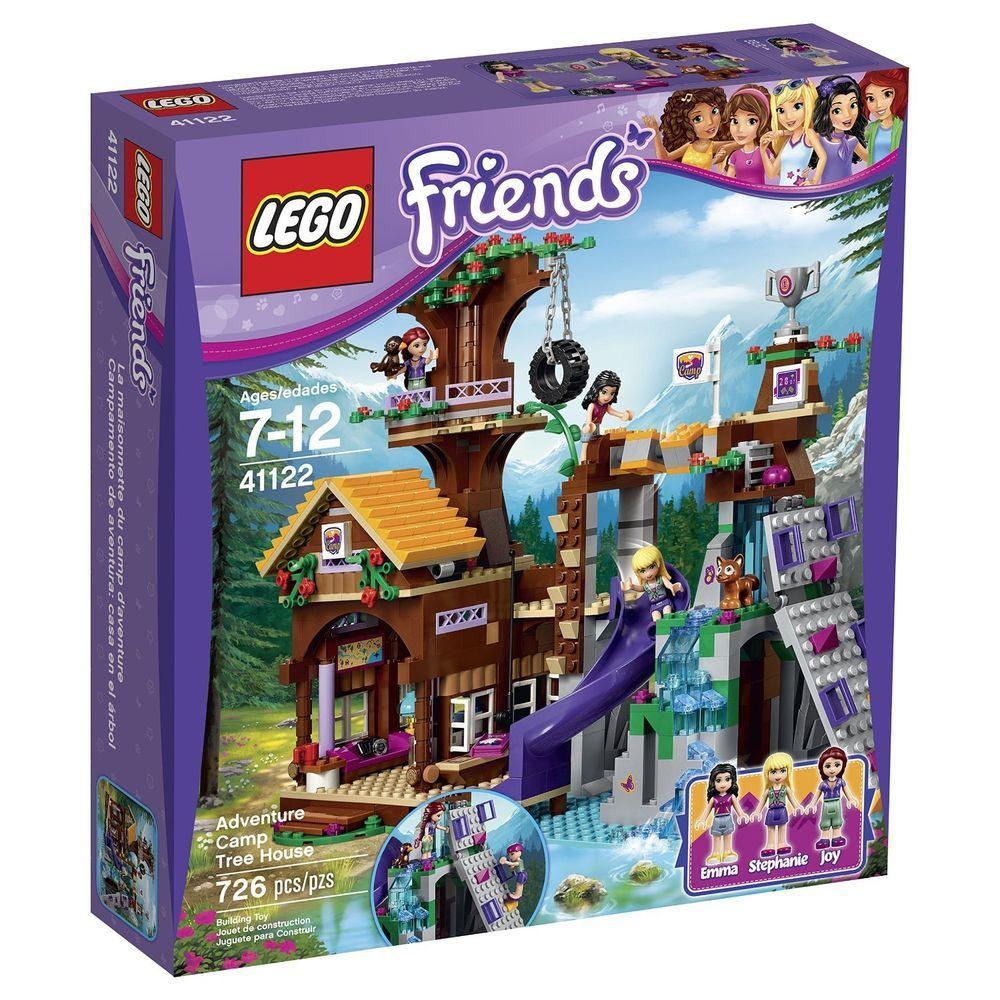 Lego Friends 41122 Adventure Camp Tree House 726 Pcs Building