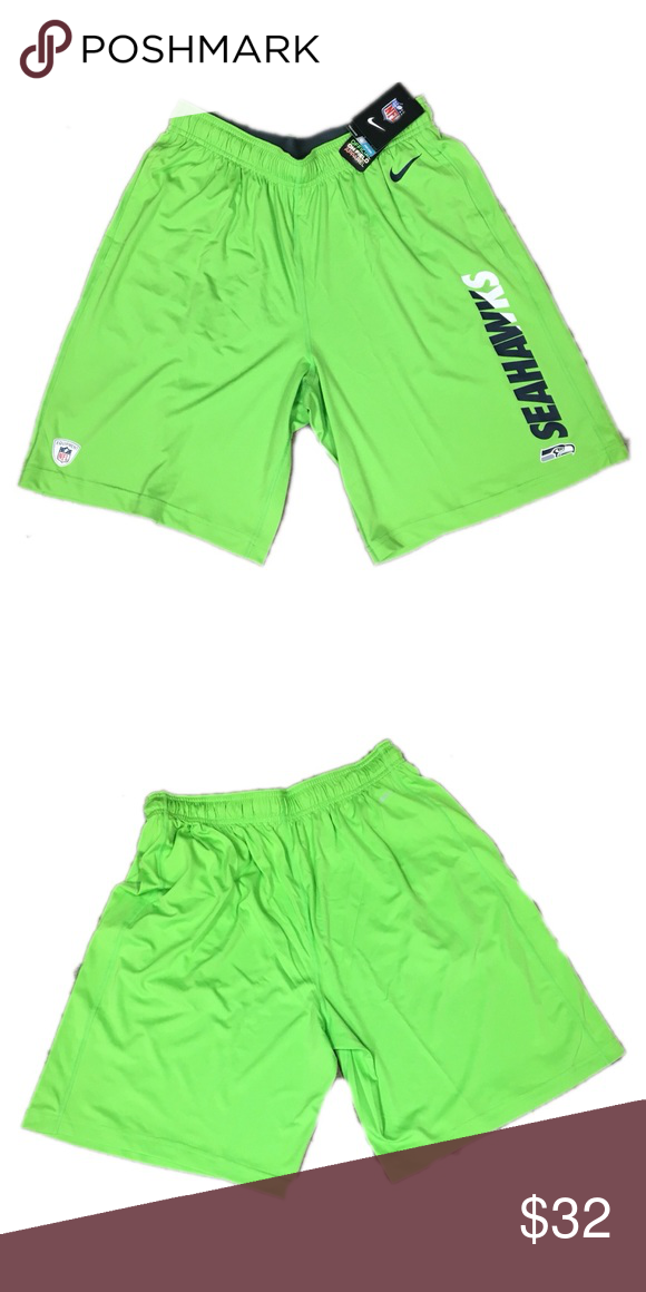 a467a0830 Seattle Seahawks Nike Men s Dri Fit Shorts Medium Brand new with tags  officially licensed Seattle Seahawks Nike men s dri fit practice fly shorts  size ...