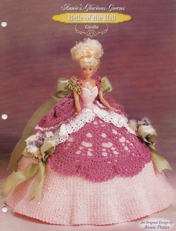 Cecelia Annies Attic häkeln Mode Puppenkleidung Muster | Gehäkelte ...