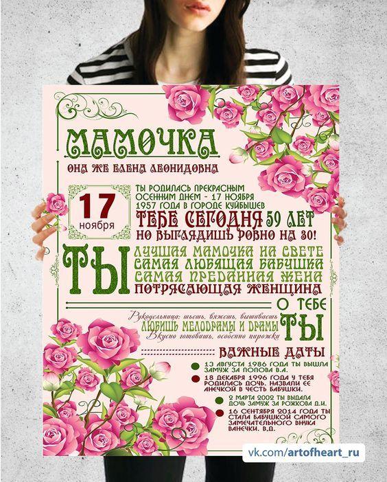 Pin Na Doske Podarok Poster Dostizhenij Pravila Doma Detskie I