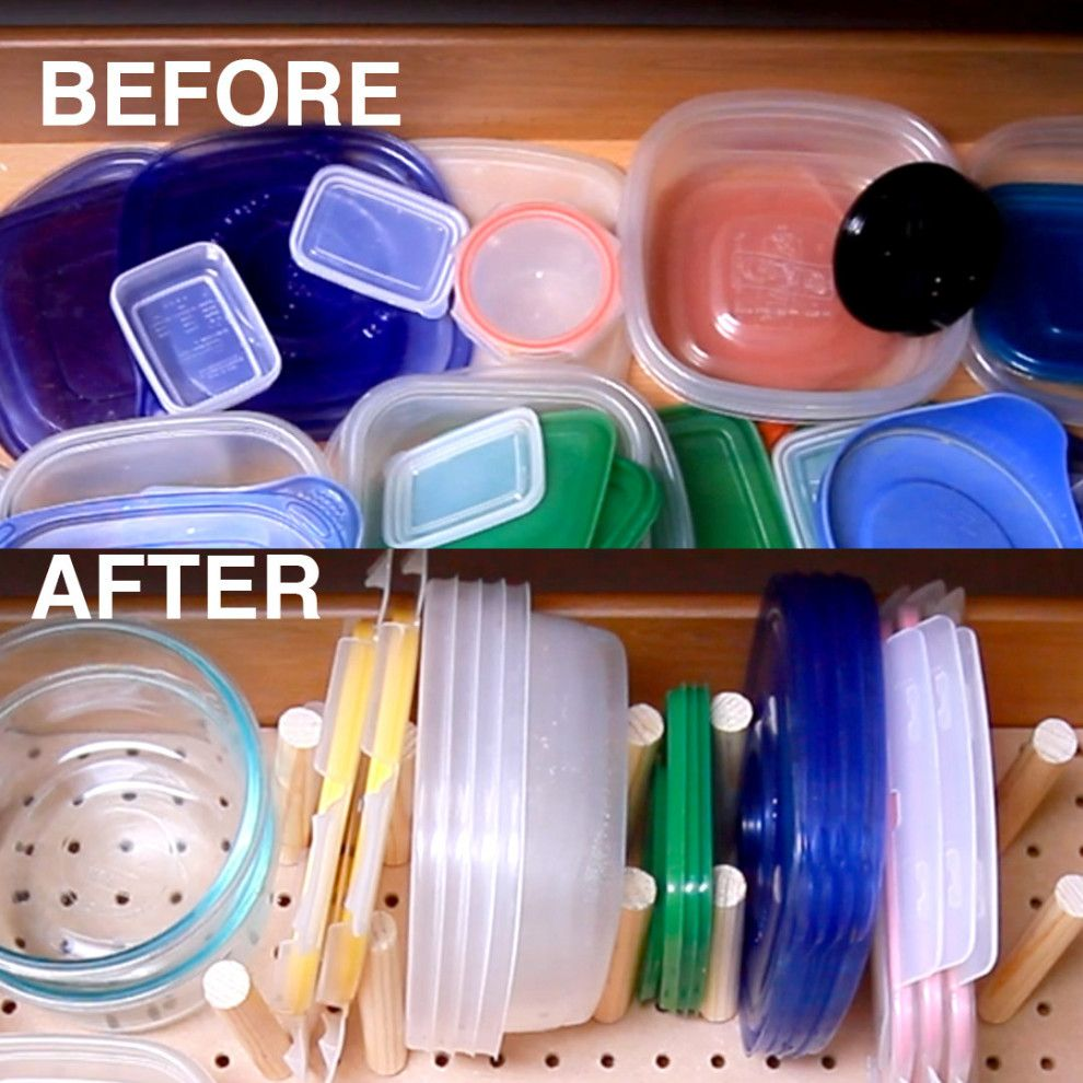 Here's A Tupperware Organizer For When Your Kitchen Gets