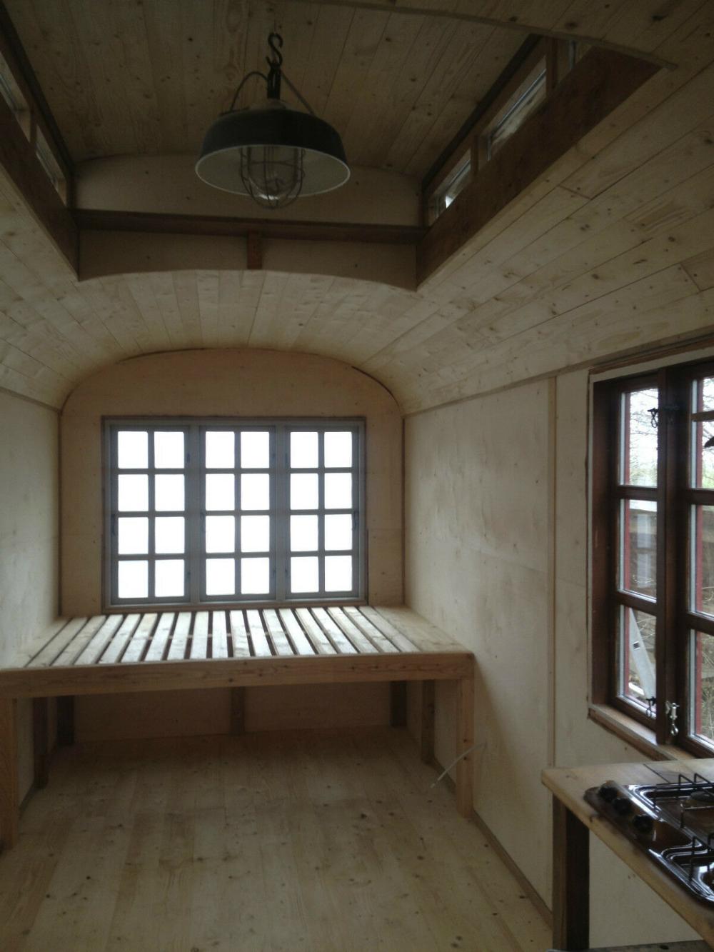 Apartment, trailer, circus wagon, studio, office