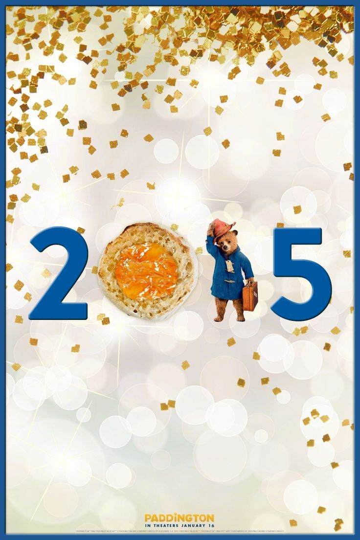 Happy New Year from Paddington! This year, Paddington\'s resolved to ...