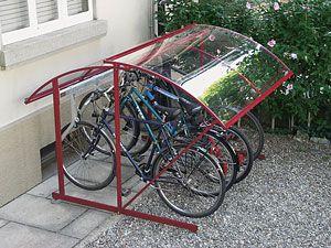 fahrradunterstand microsun fahrradgaragen pinterest fahrradgarage kerstin und h uschen. Black Bedroom Furniture Sets. Home Design Ideas