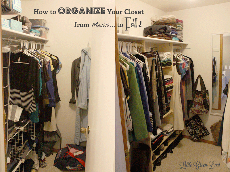 Delightful How To Make DIY Closet Organizers And Clean Out Your Walk In Closet | Little