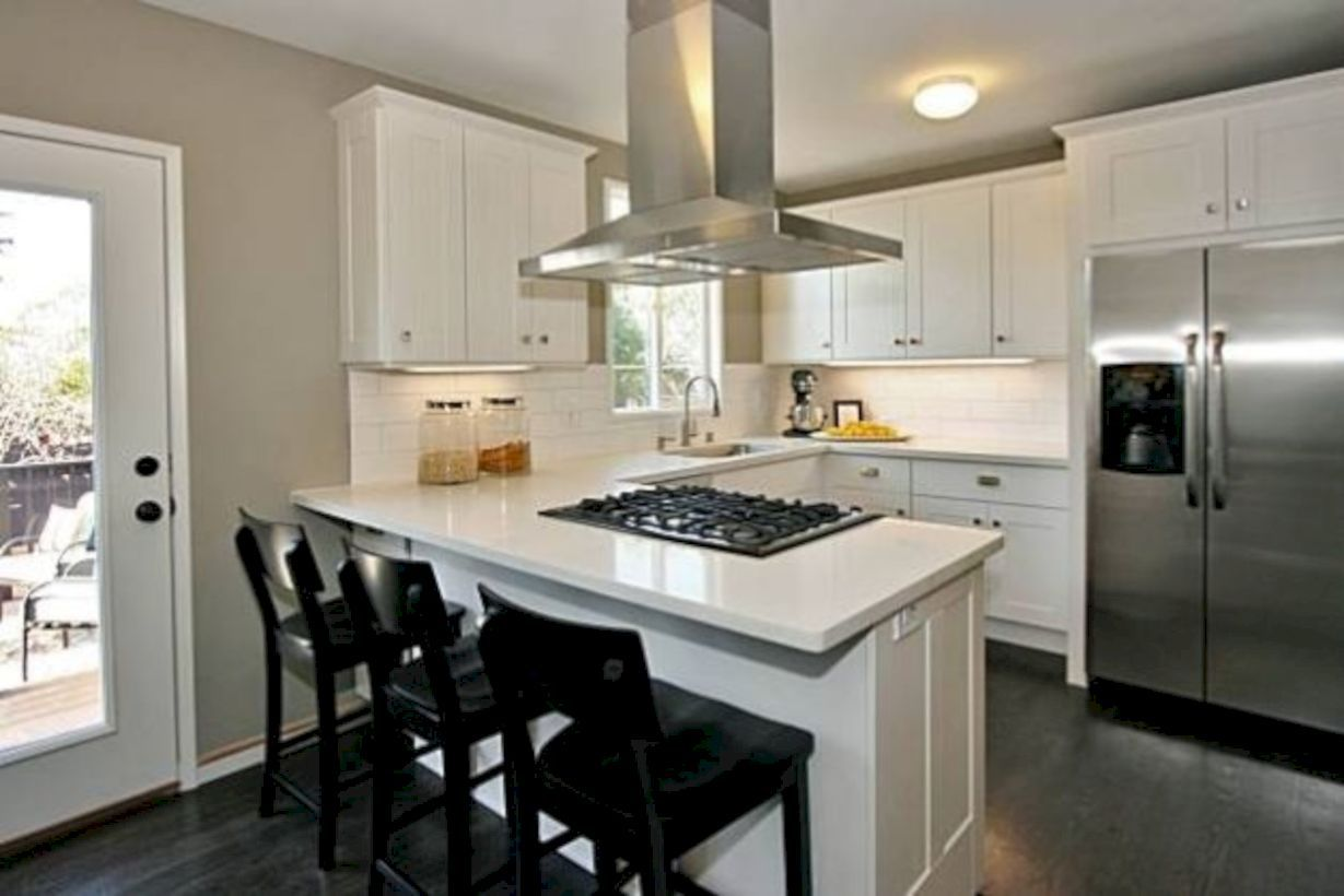 Tiny U Shaped Kitchen Oven In Middle Google Search Galley