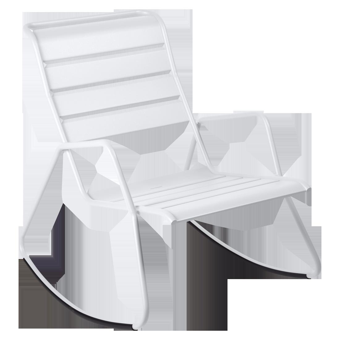 Rocking chair Monceau, rocking chair metal pour salon de ...
