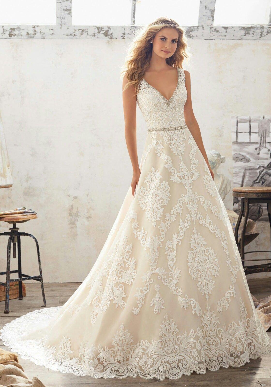 Morgan Wedding Dress by Madeline Gardener   Gelin   Pinterest