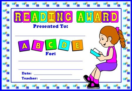 english award certificates ideas for the house teacher binder