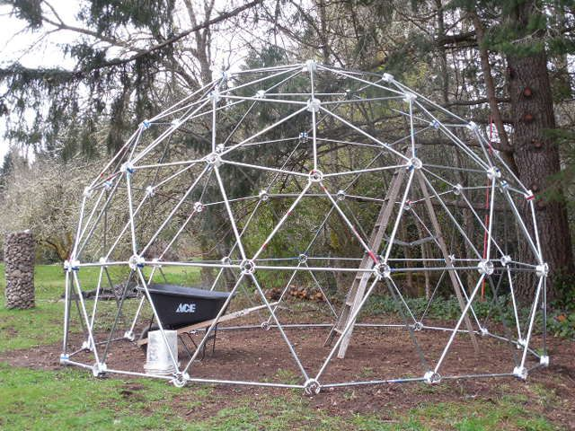 Customer Review 3v 5 8 Geodesic Dome Hubs Only Kit Geodesic Dome Geodesic Dome Kit Chicken Coop Kit