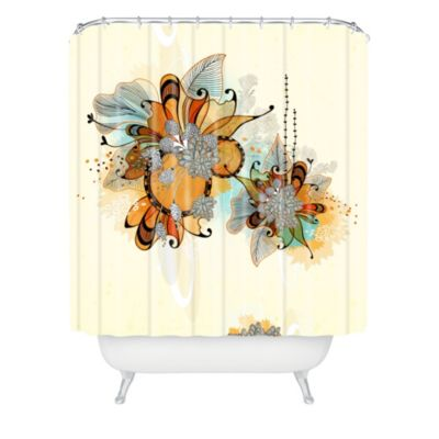Deny Designs Iveta Abolina Brown Teal Shower Curtain Reviews