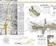 """PROPUESTA """"Eje Nueva Alameda Providencia (EAP) 2020: Regeneración Urbana, Eficiencia Funcional y Equidad Territorial"""" : Nueva Alameda Providencia"""