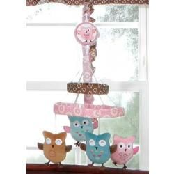 Calico Owls Musical Mobile