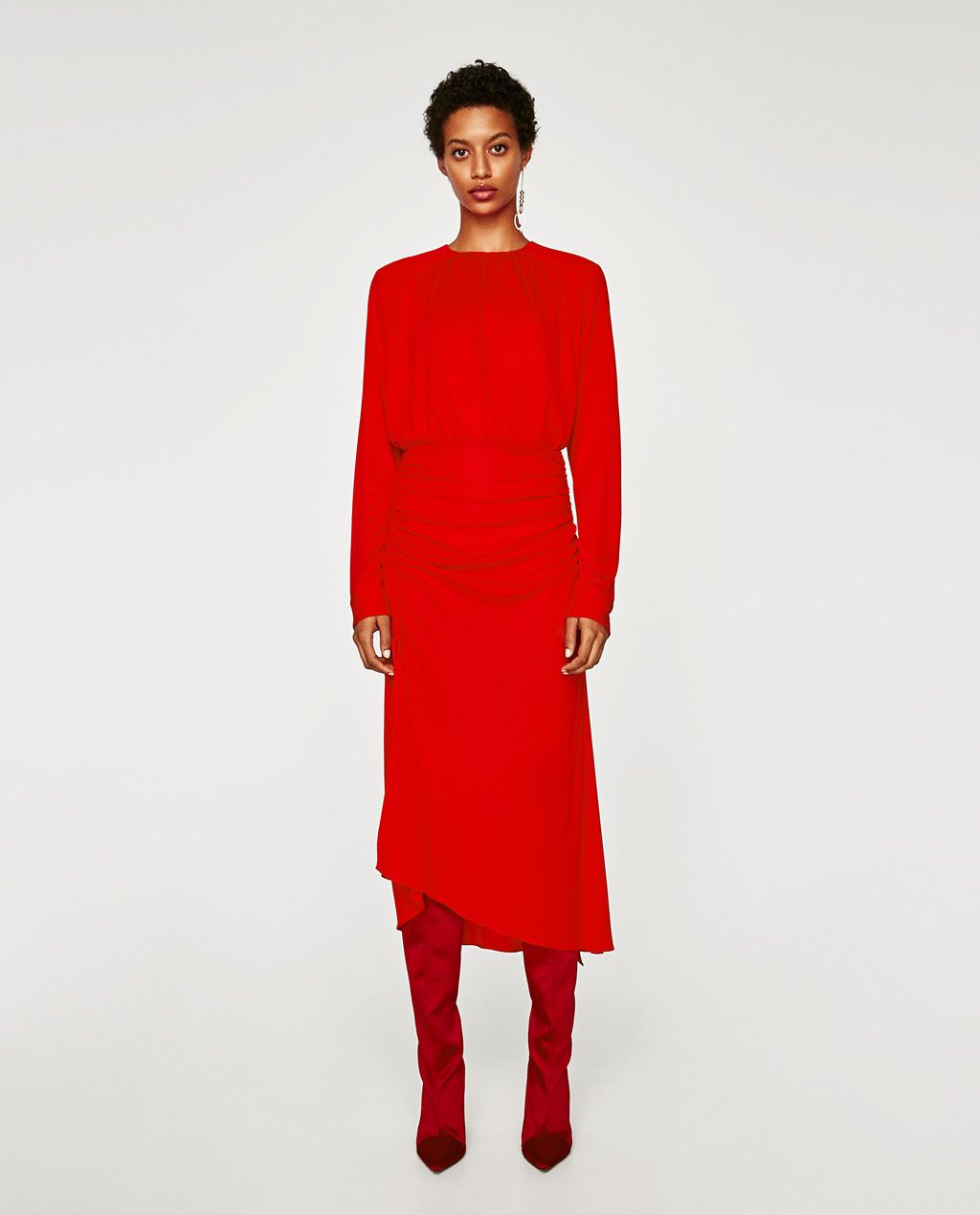 Top detalle frunces zara skirts winter wear and winter