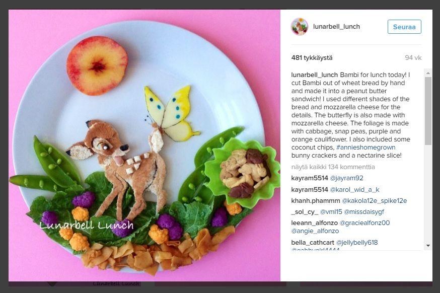 Ihastuttavaa+ruokataidetta+-+äiti+saa+lapsensa+syömään+terveellisemmin+suloisilla+annoksilla