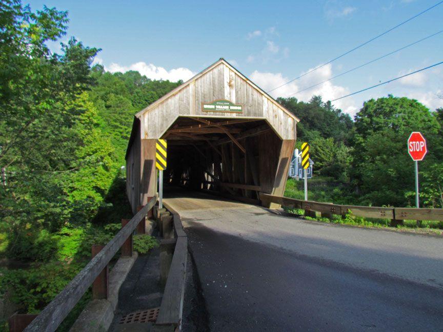 Covered Bridges of Orange County, Vermont - Travel Photos by Galen R Frysinger, Sheboygan, Wisconsin