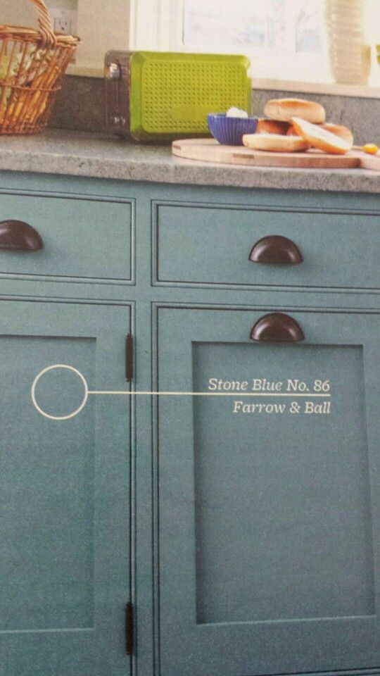 Best Stone Blue By Farrow And Ball Shown Here On Kitchen 400 x 300