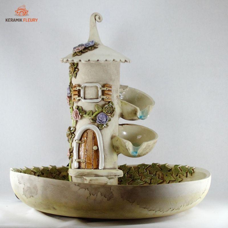 Keramik Brunnen Keramik Garnschale Brunnen