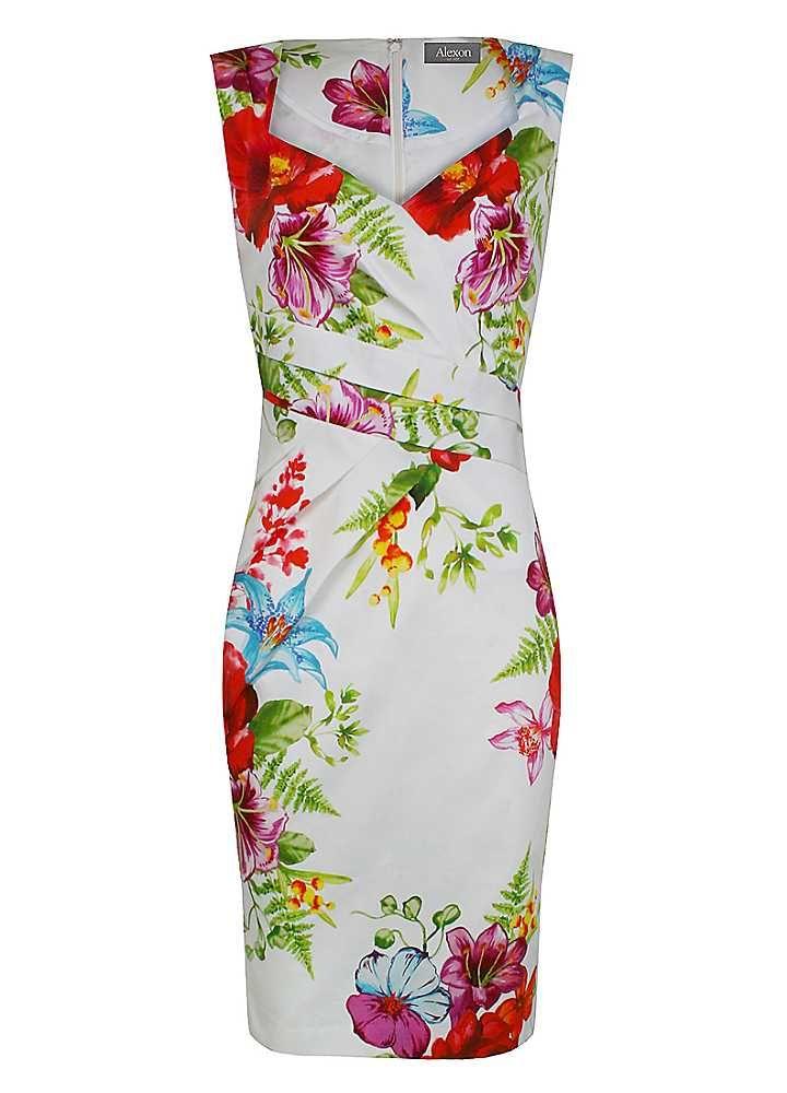 Alexon Print Dress