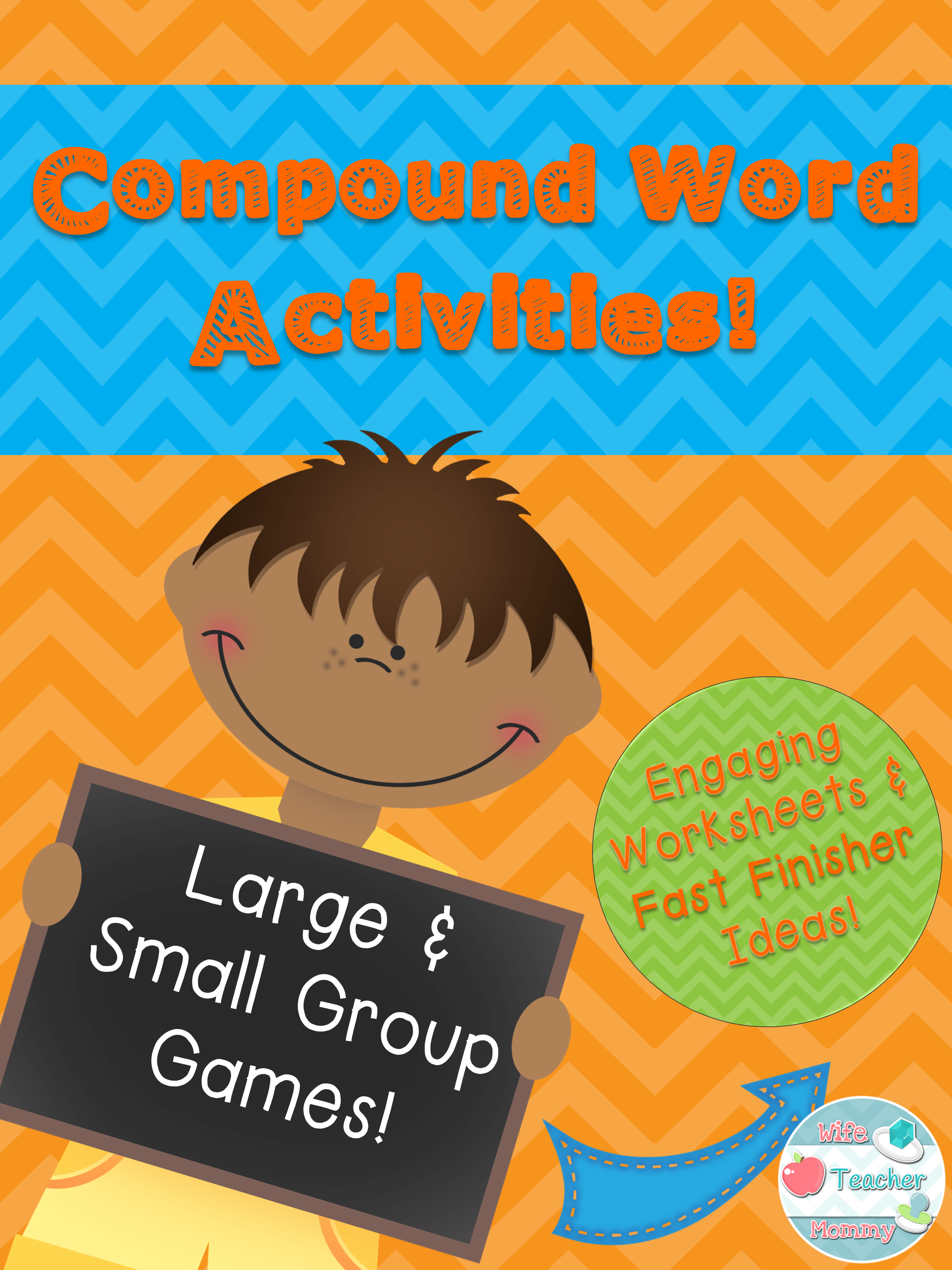Compound Word Activities Whole Group Center Games Worksheets Fast Finishers