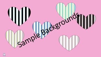 6 vertical stripe backgrounds!!!