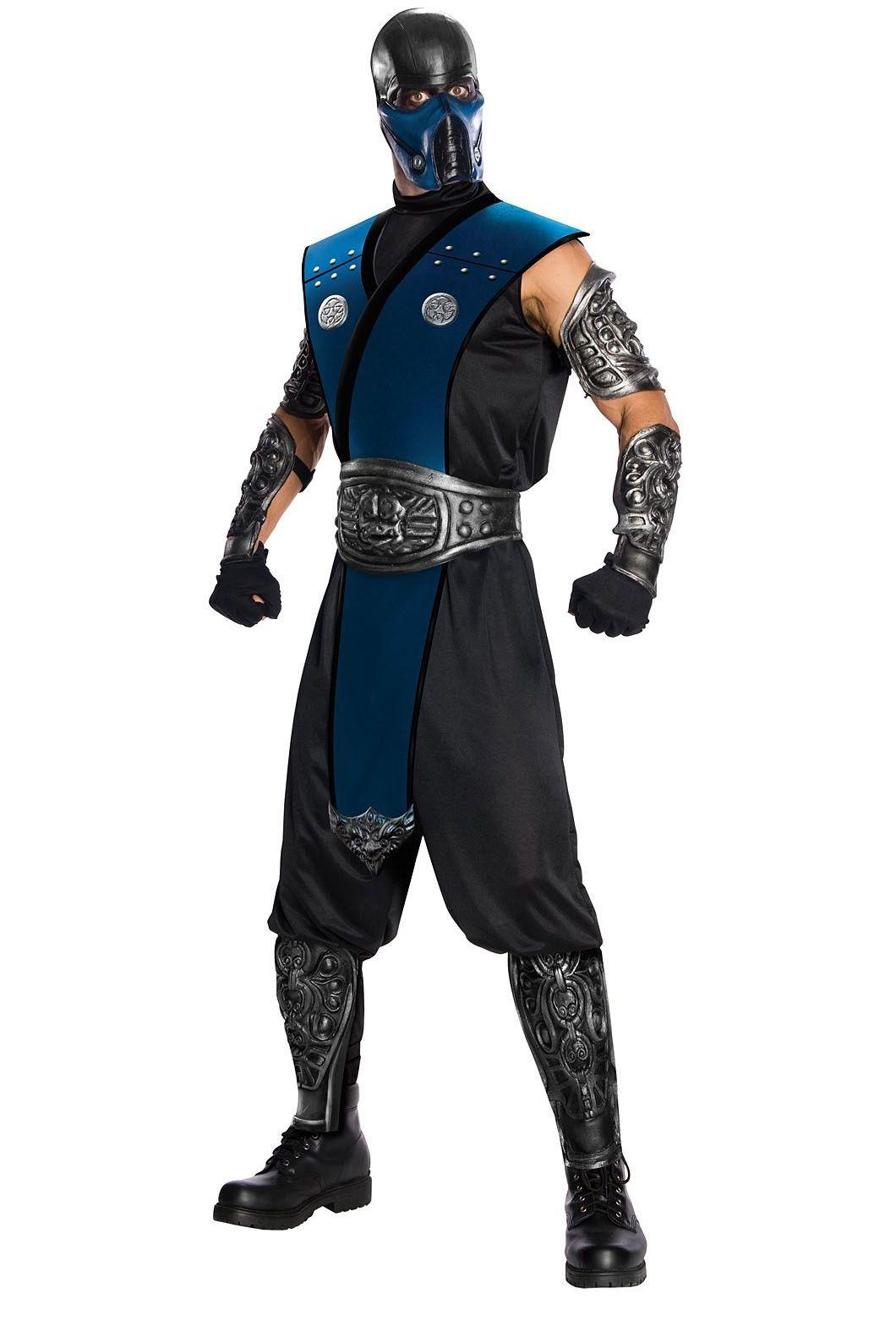 Subzero Deluxe Adult Costume One-Size Mortal Kombat
