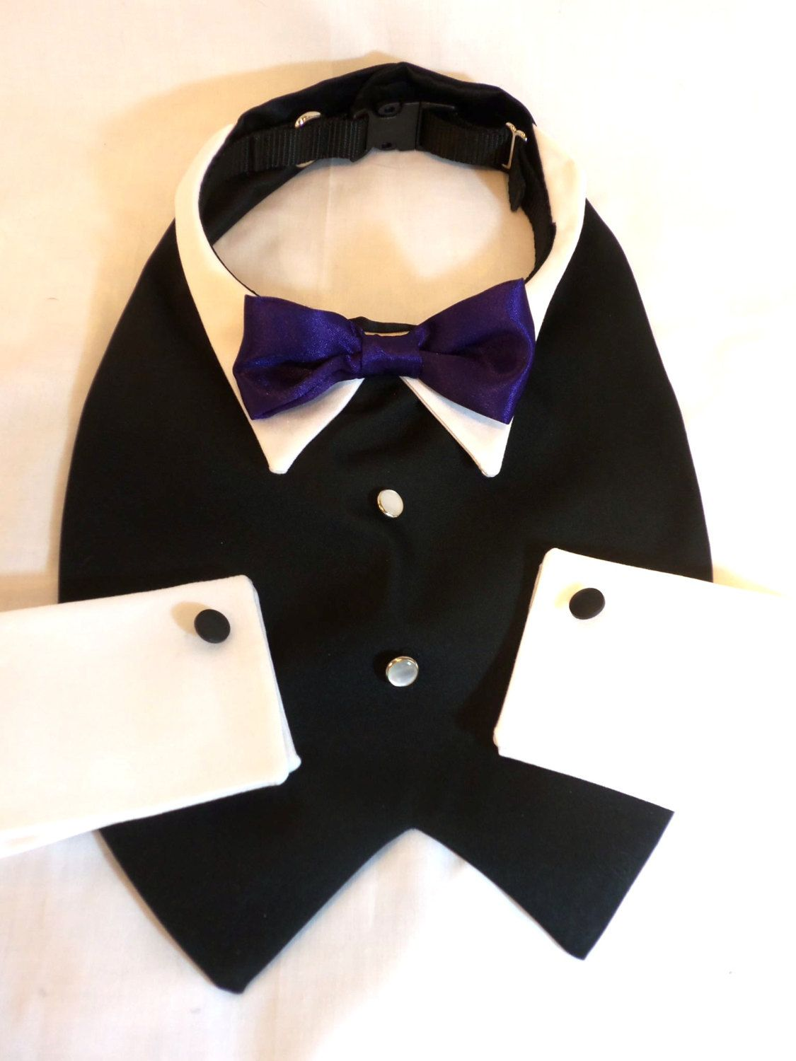 Dog Bow Tie and Cuffs