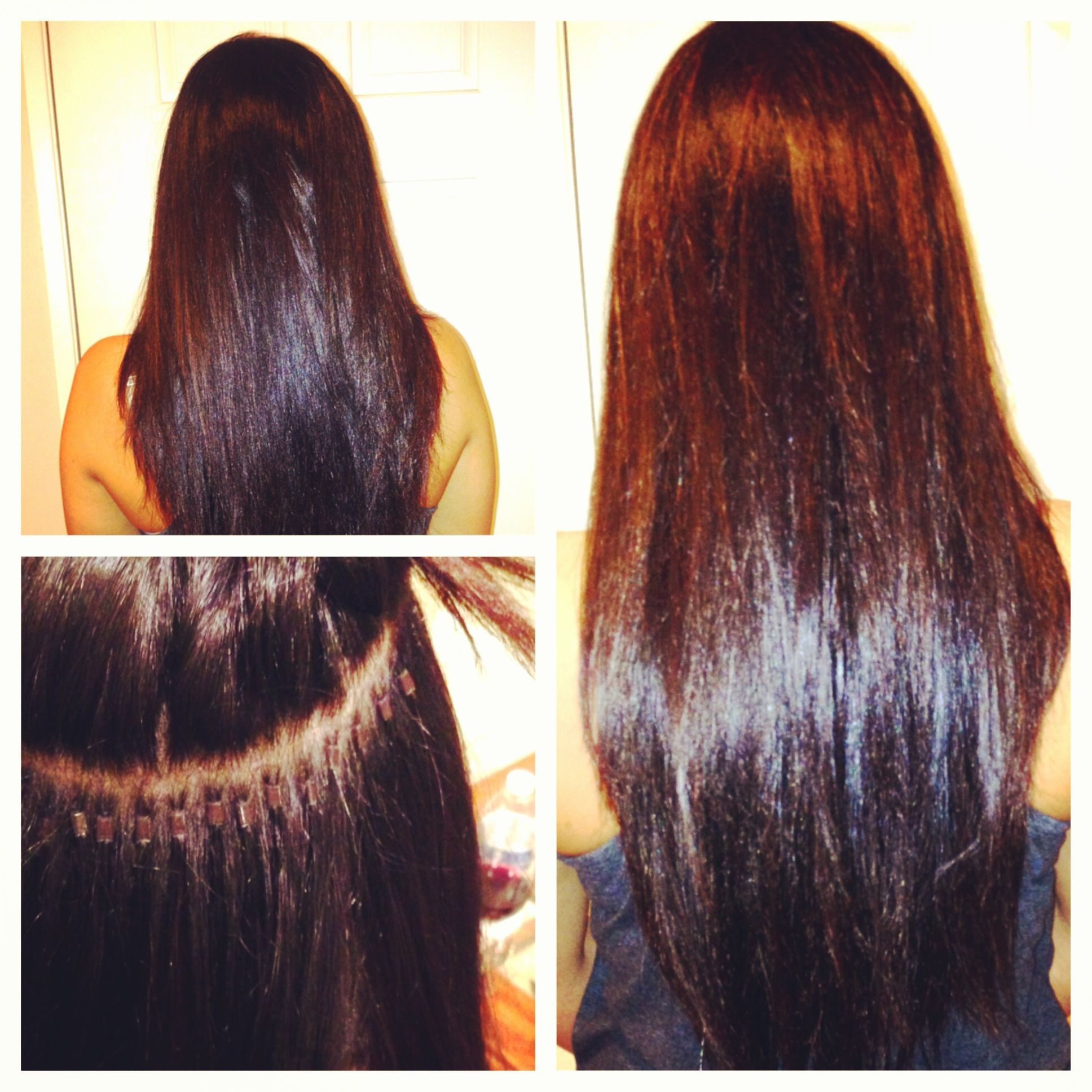 Individual Beadlock Hair Extensions My Hair And Makeup Work