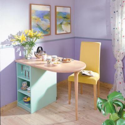 Klappbaren Tresen selber bauen house - diy furniture Pinterest - küchen selber bauen