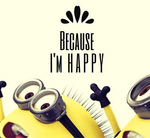 happy lyrics pharrell williams despicable me minions