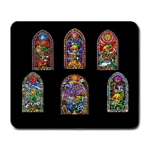 The Legend of Zelda Art Nouveau Large Mousepad mat - Game Merchandise Nintendo $2.98