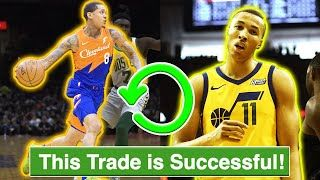 We Finally Have A Trade In The Nba The Utah Jazz Traded