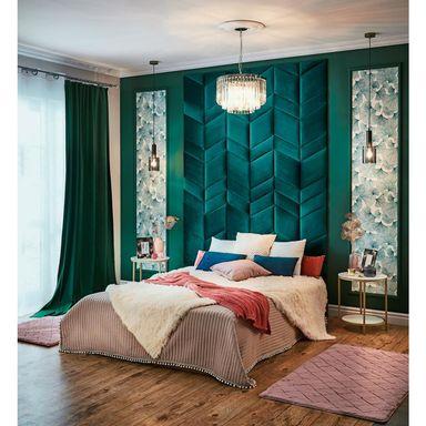 Tkanina Obiciowa Na Mb Swing Ciemnozielona Szer 145 Cm Tkaniny Na Metry W Atrakcyjnej Cenie W Sklepach Leroy Merlin Home Decor Home Furniture