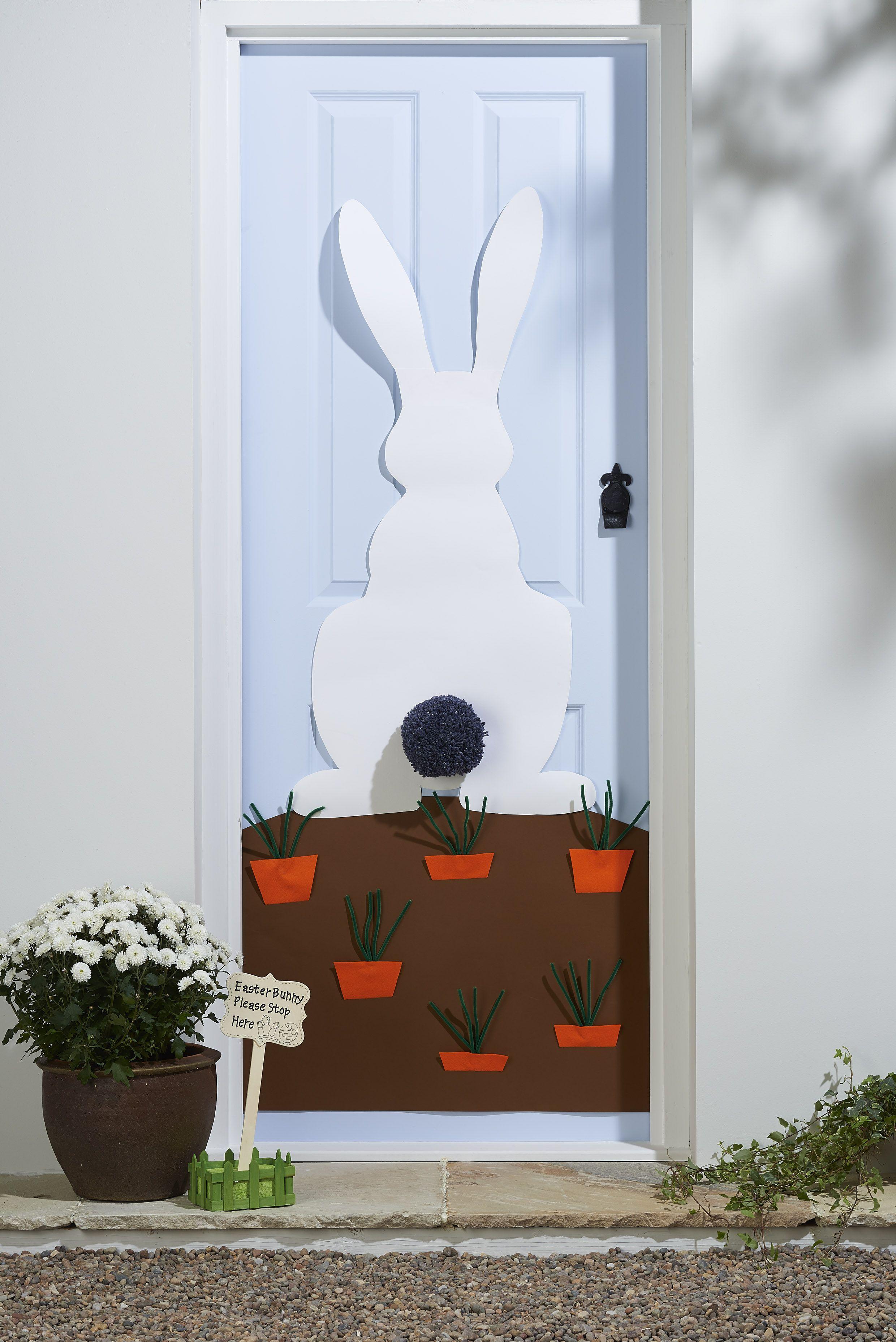 DIY Easter Door Decorations