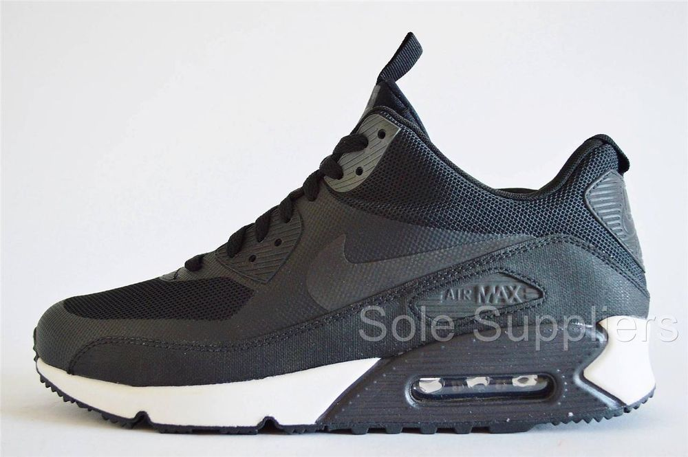 new list reliable quality multiple colors Nike Air Max 90 Sneakerboot NS Black Hyperfuse 3M Reflective ...