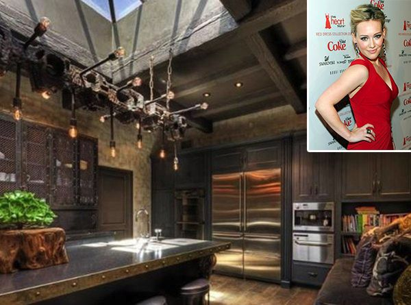 Celebrity Kitchen Celebrity kitchens Kitchens and Rustic style