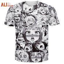 Alisister Ahegao Print T Shirt Hombres Mujeres Harajuku Cara Roja de la  Mujer Camisetas Divertidas Tímida Chica Sexy Tops Verano Ropa Linda  Dropship(China ... 77193f2db7d1