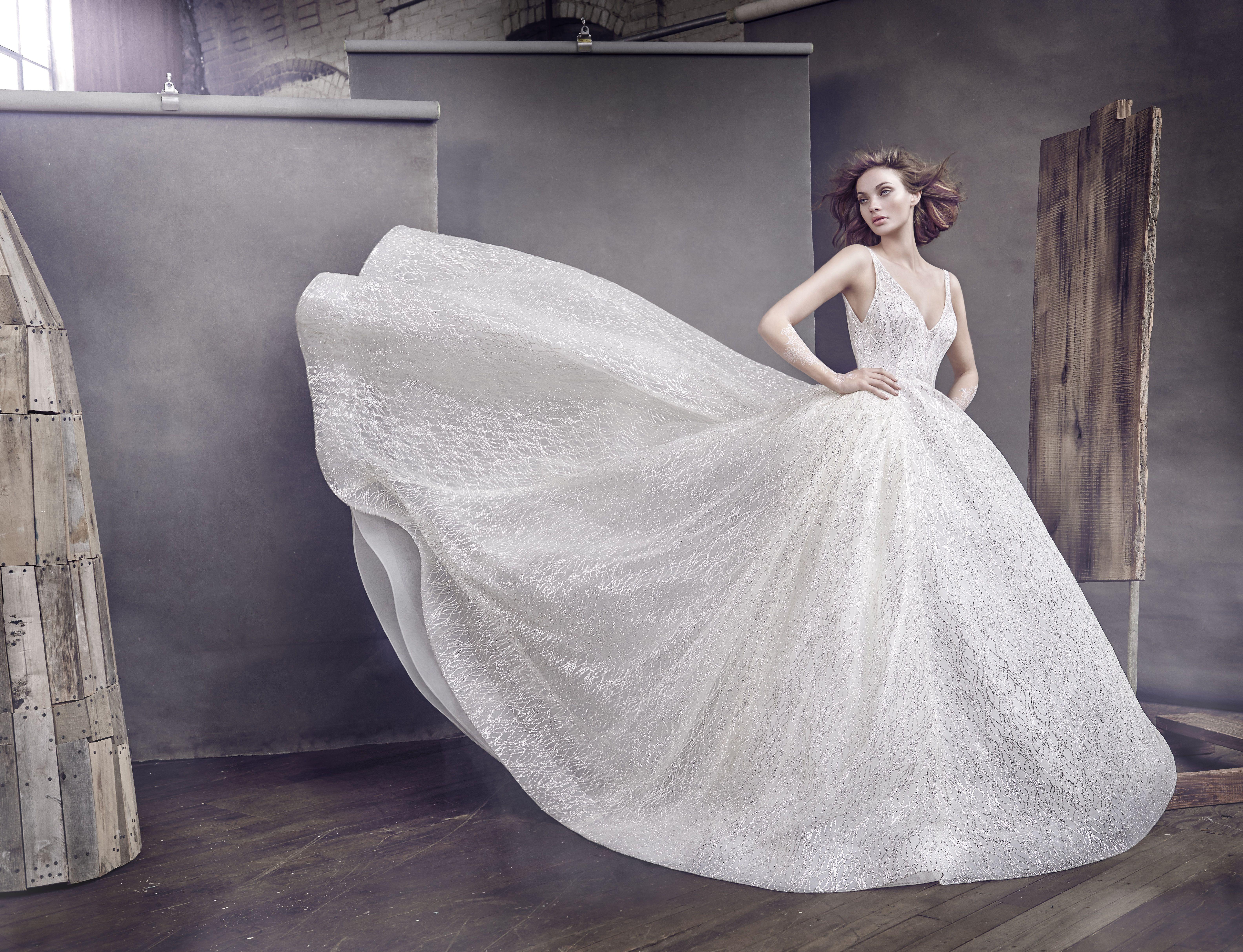 lazaro 3662 sparkle ball gown wedding gowns pinterest ball