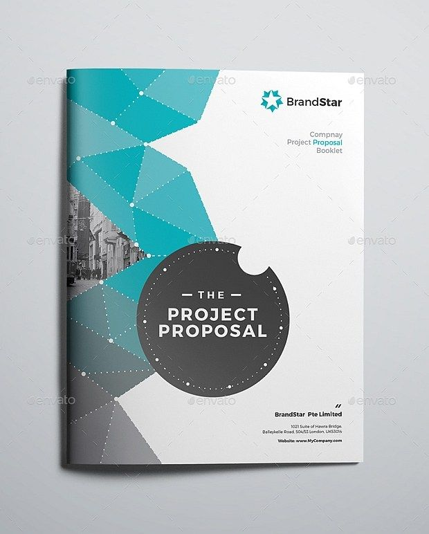 40 Pages Corporate Project Proposal Template (InDesign) #proposal ...