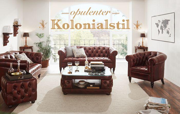 Opulente Möbel im kolonialen Stil | massivum | Klassische ...