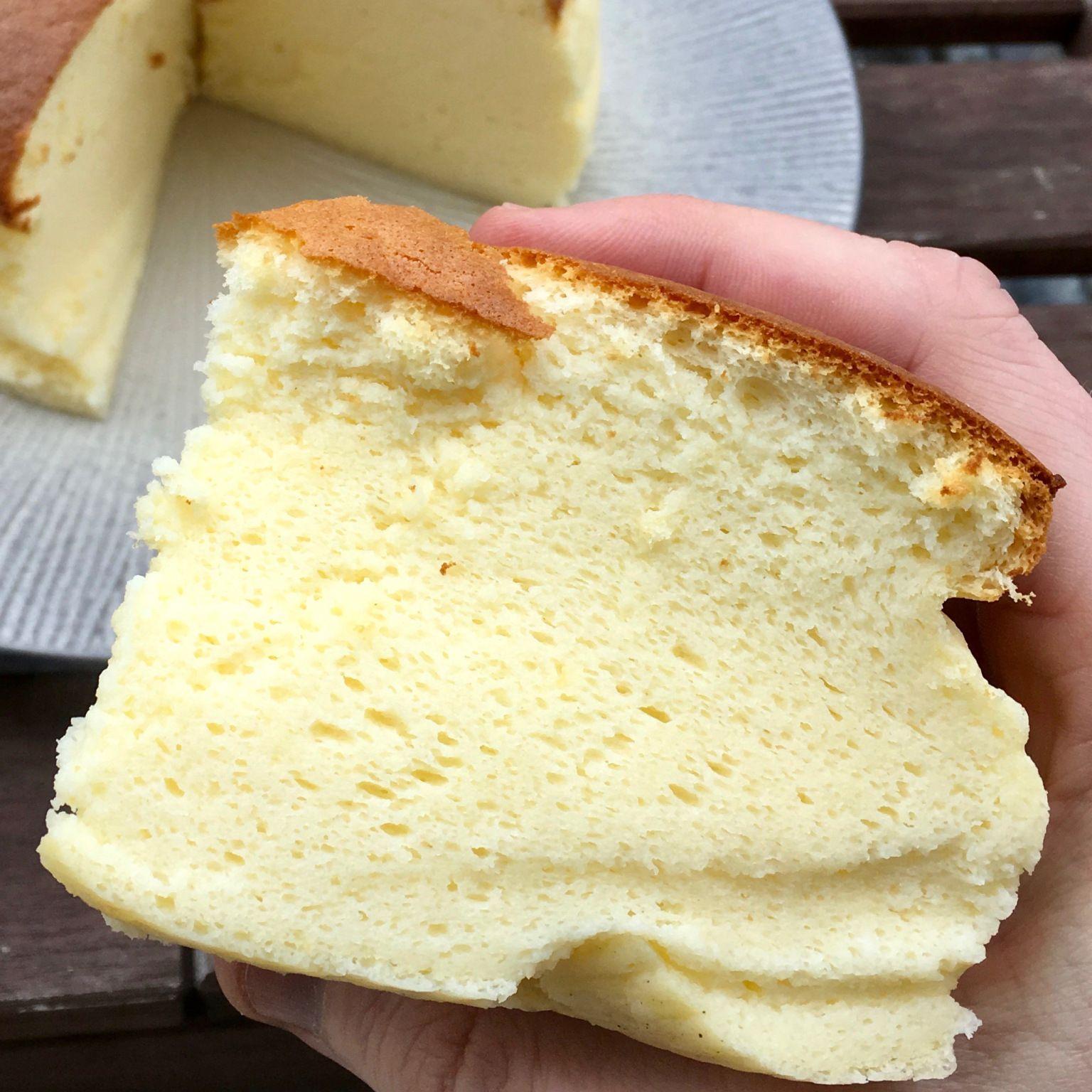 Un cheesecake japonais | Cheesecake japonais, Recette ...