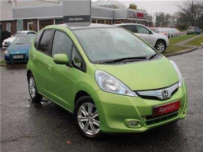 Used 2011 11 Reg Lime Green Honda Jazz 13 Ima Hx Hybrid 5dr Cvt