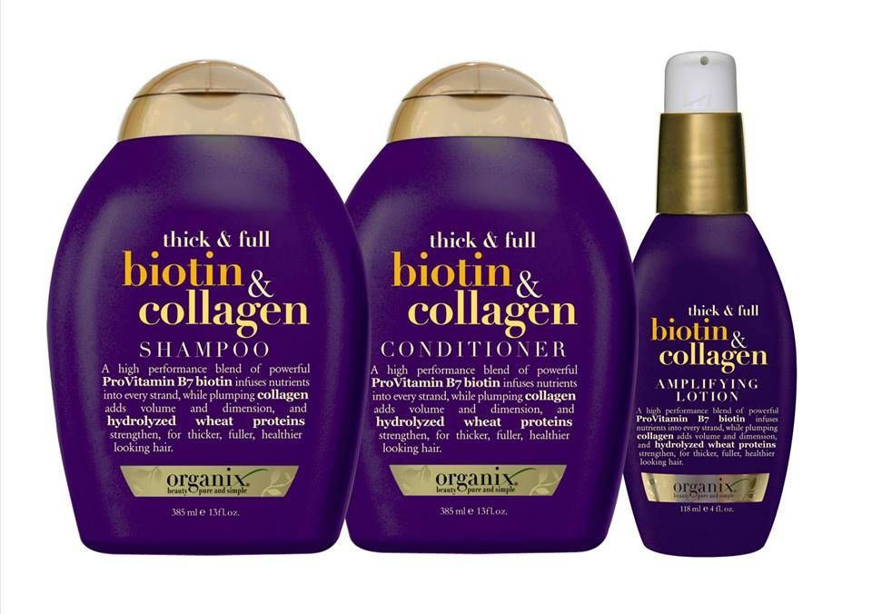 Organix Thick Full Biotin Collagen With Images Biotin