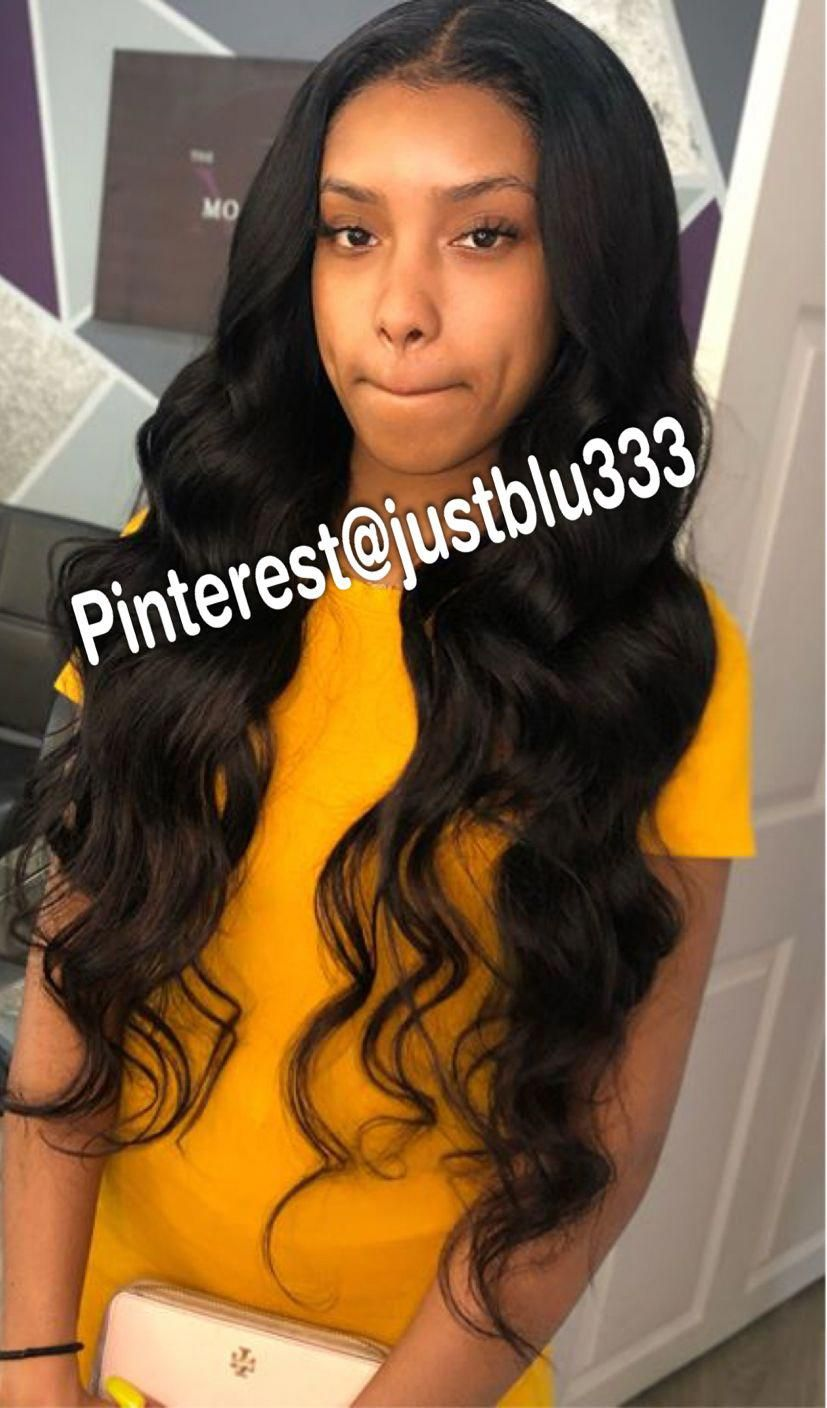40 Chic Sew In Hairstyles For Black Women Teenage Girl Hairstyles Sew In Hairstyles Natural Hair Styles