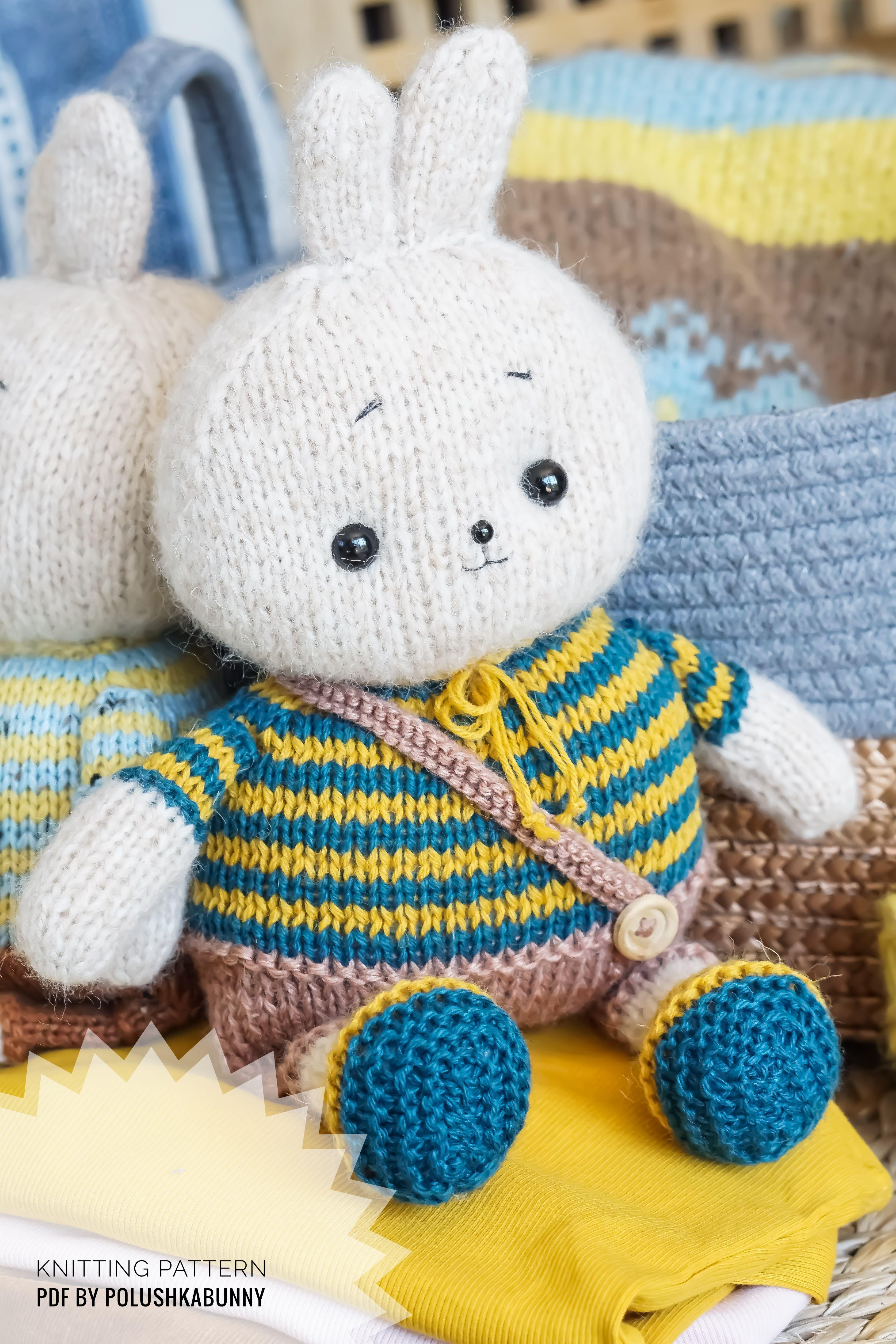 Forest Friends Amigurumi Knitting Pattern | 5729x3819