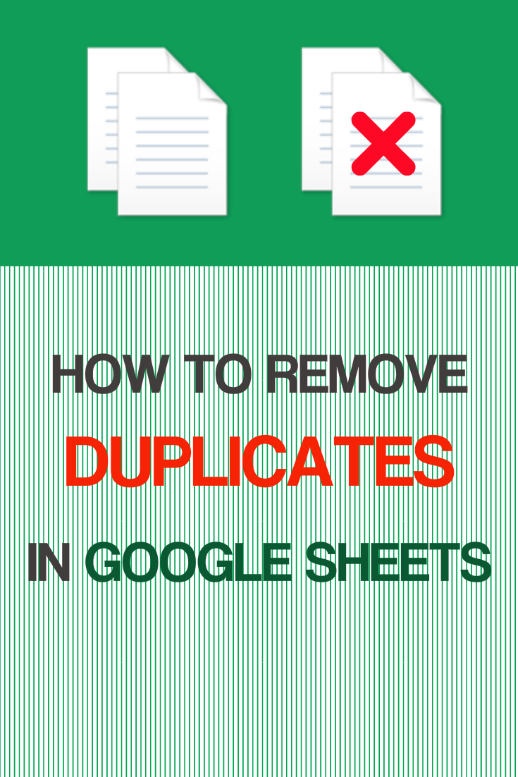 how to remove duplicates in google sheets google sheet tips