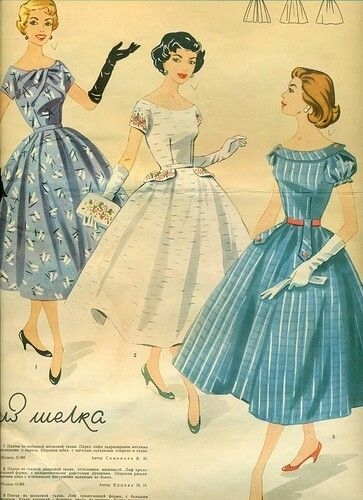 Pin by Melanee {mommaloves7} on Vintage Fashion 1950-60\'s ...