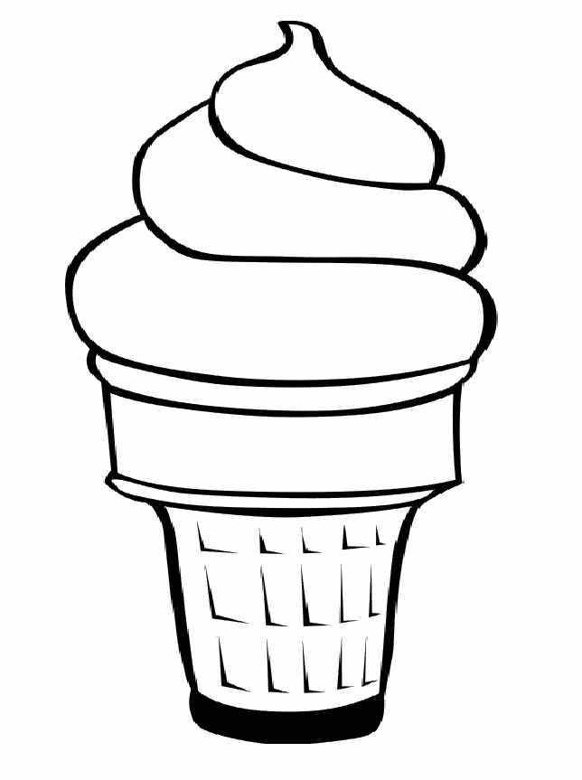 Free Ice Cream Cone Coloring Pages Ice Cream Coloring Pages Food Coloring Pages Coloring Pages